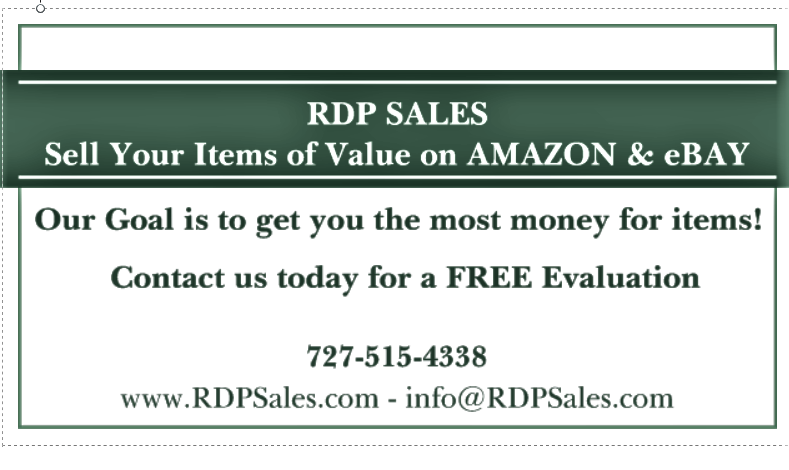 Business card of RDP Sales