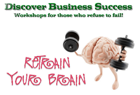 Business card of I Refuse 2 Fail Workshops