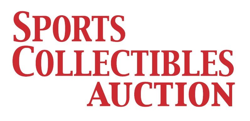 Business card of Sports Collectibles Auction
